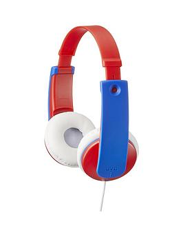 jvc-tinyphones-kids-wired-headphones-with-volume-safety-limiter-red