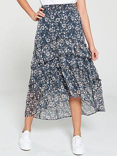 v-by-very-tiered-ditsy-chiffon-midi-skirt-print