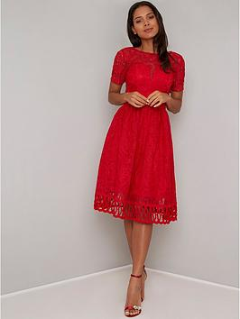 chi-chi-london-lavinia-dress-rednbsp