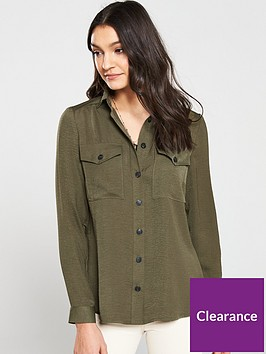v-by-very-soft-utility-shirt-khaki