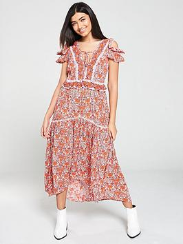 v-by-very-ladder-trim-detail-midaxi-dress-floral-print