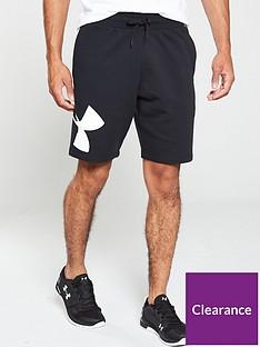 under-armour-rival-fleece-logo-sweat-shorts-blackwhite