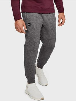 Under Armour Under Armour Rival Fleece Joggers - Grey/Black Picture