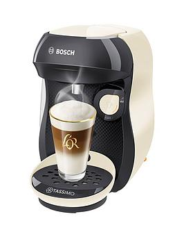 Tassimo Tassimo Tas1007Gb Happy Pod Coffee Machine - Cream Picture
