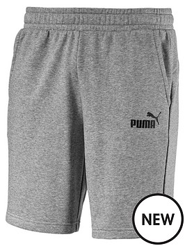 puma-essentials-sweat-shorts-grey