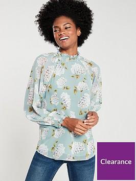 v-by-very-high-neck-floaty-blouse-print
