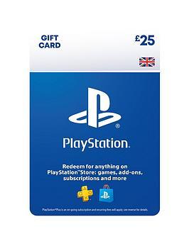 Playstation 4   Psn Wallet Top Up - 25.00 - Digital Do