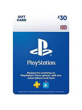 Playstation 4   Psn Wallet Top Up - 30.00 - Digital Dow