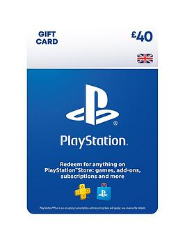 Playstation 4 Playstation 4 Psn Wallet Top Up - 40.00 - Digital Dow Picture