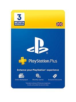 Playstation 4   Ps Plus 3 Month Subscription - Digital Download