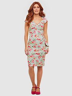 joe-browns-wonderful-watermelon-dress-green