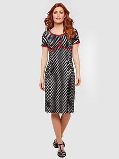 joe-browns-passionately-polka-dot-dress-black