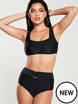 v-by-very-ring-belt-high-waist-bikini-brief-black