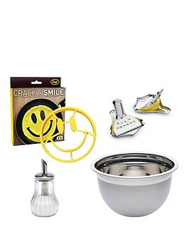 kitchencraft-pancake-day-essentials-4pc-set-including-mixing-bowl-sugar-dispenser-pancake-mould-and-lemon-squeezers