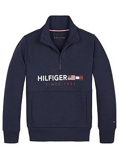 tommy-hilfiger-boys-half-zip-flag-sweatshirt-navy