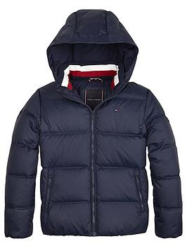 tommy-hilfiger-boys-padded-down-hooded-jacket-navy