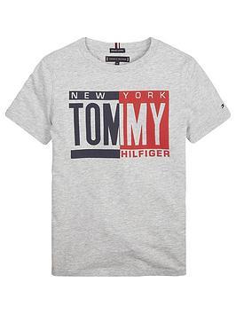 tommy-hilfiger-boys-short-sleeve-printed-t-shirt-grey