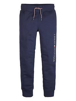 tommy-hilfiger-boys-logo-side-cuffed-joggers-navy