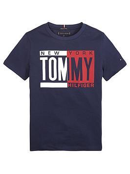 tommy-hilfiger-boys-short-sleeve-printed-t-shirt-navy