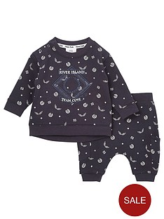 river-island-baby-baby-ri-monogram-jogger-outfit-navy