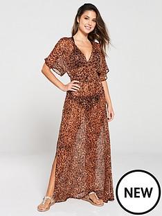 v-by-very-leopard-maxi-beach-dress-animal-print