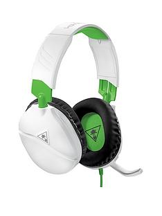 turtle-beach-recon-70x-white-gaming-headset-for-xbox-one-xbox-series-x-ps5-ps4-switch-pc-white-amp-green