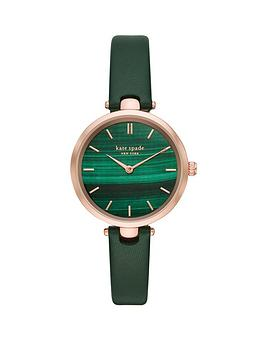 kate-spade-new-york-kate-spade-holland-green-marbled-and-rose-gold-detail-dial-green-leather-strap-ladies-watch