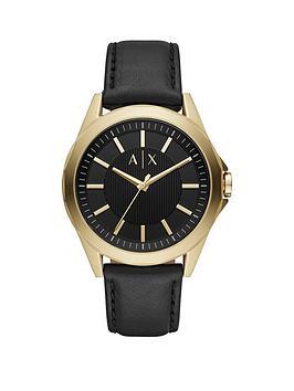 armani-exchange-armani-exchange-drexler-black-and-rose-gold-detail-dial-black-leather-strap-mens-watch