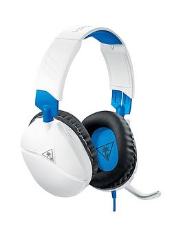 Turtle Beach Turtle Beach Ear Force Recon 70P Gaming Headset - White Picture