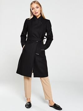 ted-baker-ellgenc-d-ring-wrap-coat-black