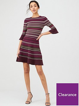 ted-baker-tayiny-stripe-ottoman-knitted-dress-khaki