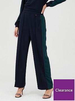 ted-baker-clarpa-contrast-panel-wide-leg-trouser-dark-blue
