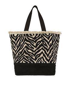 accessorize-zahara-zebra-tote