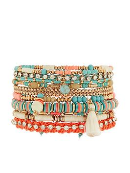 accessorize-amalfi-lux-stretch-bracelet-pack-blue