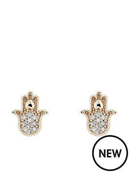 ted-baker-hermia-hidden-heart-hand-stud-earrings-gold