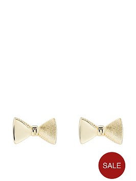 ted-baker-tayal-tux-bow-stud-earrings-pale-gold