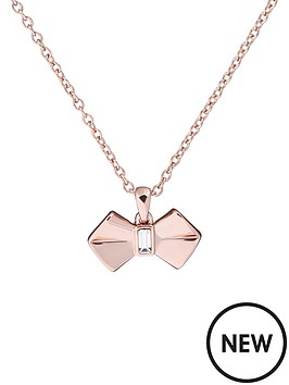 ted-baker-sarahlinbspsolitaire-bow-pendant-necklace-rose-gold