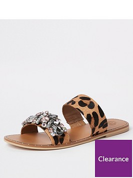 river-island-river-island-embellished-printed-leather-sandal-leopard