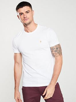 Farah Farah Dennis Solid T-Shirt - White Picture