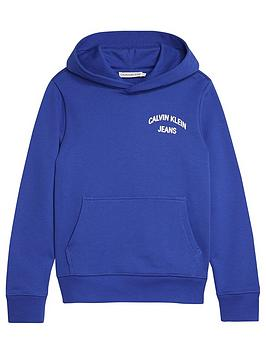 calvin-klein-jeans-boys-chest-logo-overheadnbsphoodienbsp--blue