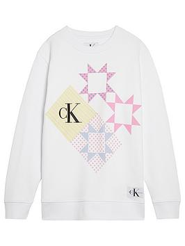 calvin-klein-jeans-girls-patchwork-print-sweatshirt-white