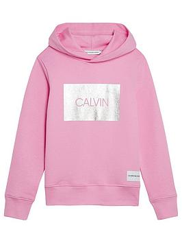 calvin-klein-jeans-girls-silver-box-hoodienbsp--pink