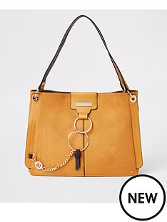 river-island-river-island-ring-front-slouch-bag--yellow