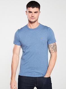 farah-dennis-solid-t-shirt-blue-marl