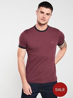 farah-groves-ringer-t-shirt-farah-red