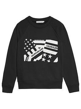 calvin-klein-jeans-boys-flag-embroidered-sweat-black
