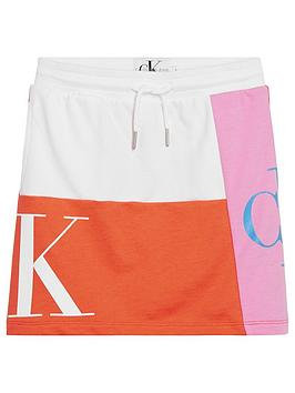 calvin-klein-jeans-girls-monogram-patchwork-skirt