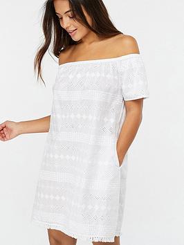 accessorize-off-the-shoulder-schiffli-beach-dress-white