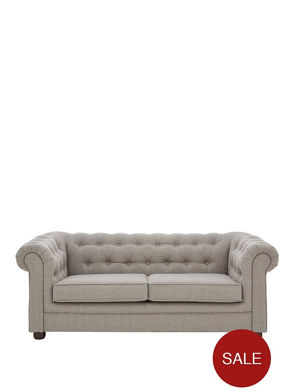 Oxford Fabric 3 Seater Sofa Littlewoods Com