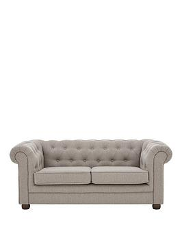 Very Oxford Fabric 2 Seater Sofa Picture